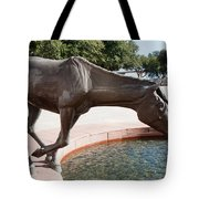 Los Colinas Mustangs 14687 Tote Bag