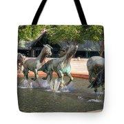 Los Colinas Mustangs 14707 Tote Bag