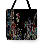 Losing Equilibrium - Abstract Art Tote Bag