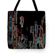 Losing Equilibrium - Abstract Art Tote Bag