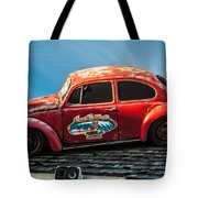 Lost Beetle Tote Bag