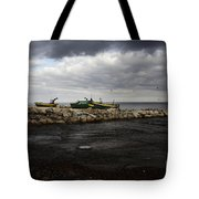 Lost Boats Tote Bag