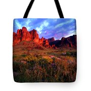 Lost Dutchmans State Park Arizona Tote Bag