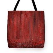 Lost Garden- Marsala Art Tote Bag