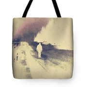 Lost Hitch Hiker Tote Bag