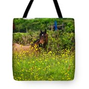 Lost In Buttercups Tote Bag