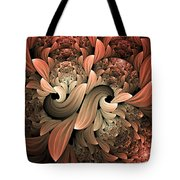 Lost In Dreams Abstract Tote Bag