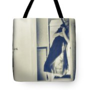 Lost In Her Thought Tote Bag