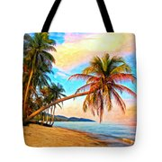 Lost In Paradise Tote Bag