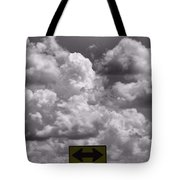 Lost In The Storm Tote Bag