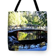 Lost Lagoon Bridge Tote Bag