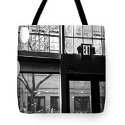 Lost Lake Black And White Tote Bag