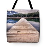 Lost Lake Dock Tote Bag