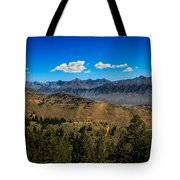 Lost River Mountains Tote Bag