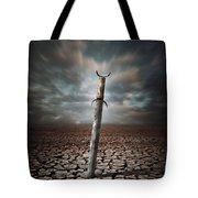 Lost Sword Tote Bag by Carlos Caetano