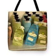 Lotions And Potions Tote Bag