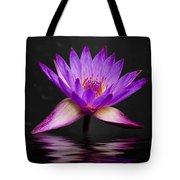 Lotus Tote Bag by Adam Romanowicz