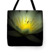 Lotus And Bee Tote Bag