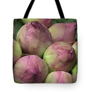 Lotus Buds Tote Bag