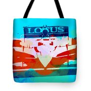 Lotus F1 Racing Tote Bag by Naxart Studio