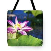 Lotus Flower V6 Tote Bag