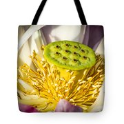 Lotus Heart Tote Bag