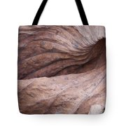 Lotus Leaf In Fall Tote Bag
