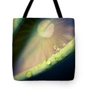 Lotus Leaf Unfurling Tote Bag