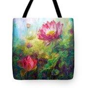 Lotus Light Tote Bag