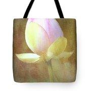 Lotus Looking To Bloom Tote Bag