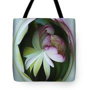 Lotus Mirror Tote Bag