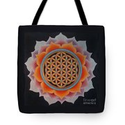 Lotus Of Life Tote Bag