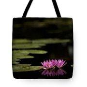 Lotus Reflections Tote Bag