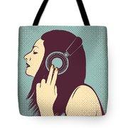Loud Silence Tote Bag