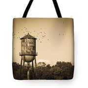 Loudon Water Tower Tote Bag
