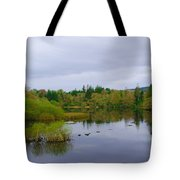 Lough Eske In The Morning Tote Bag
