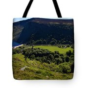 Lough Tay Below Luggala Mountain Tote Bag