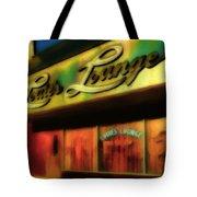 Louie's Lounge Tote Bag