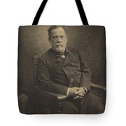 Louis Pasteur Tote Bag