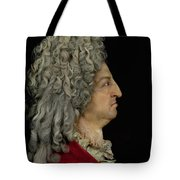 Louis Xiv 1638-1715 1706 Mixed Media Tote Bag