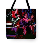 Louise At Jazz Corner Tote Bag