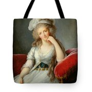 Louise-marie Adelaide, Duchesse Dorleans Oil On Canvas See Also 91622 Tote Bag