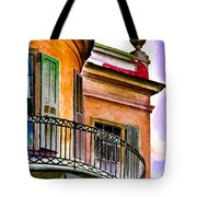 Louisiana Bank Building New Orleans Tote Bag
