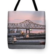 Louisiana Baton Rouge River Commerce Tote Bag