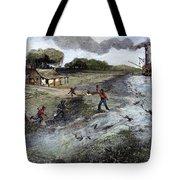 Louisiana Broken Levee Tote Bag