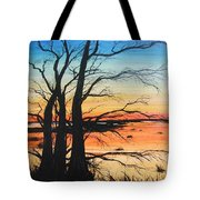 Louisiana Lacassine Nwr Treescape Tote Bag