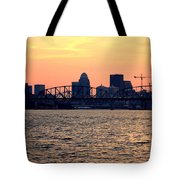 Louisville Sunset 3 Tote Bag
