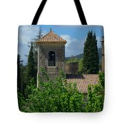 Lourmarin Castle In Provence Tote Bag