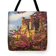 Louvre Blossoms Tote Bag