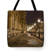 Louvre Courtyard Tote Bag